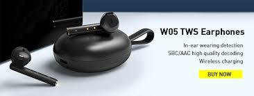 <b>Baseus W09 TWS</b> Wireless Bluetooth Earphone Intelligent Touch ...