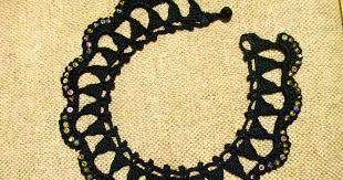 Black Lacy Triangles - Crochetology by Fatima