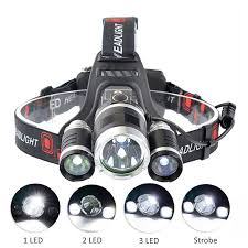 <b>PANYUE</b> Super Bright RJ3000 3T6 <b>LED</b> Headlamp 5000LM <b>LED</b> ...