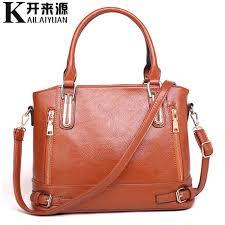 KLY <b>100</b>% <b>Genuine leather Women</b> handbags 2019 New ...