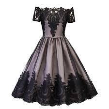 <b>2019 Hot Sale</b> Women Bow design Party Elegant Dress Color Block ...