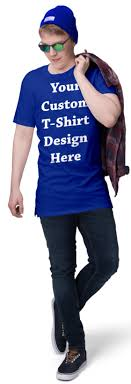 <b>Royal Blue Custom</b> T Shirts