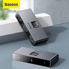 <b>Baseus HDMI Splitter 4K</b> 60Hz Bi-Direction HDMI Switch 1x2/2x1 ...
