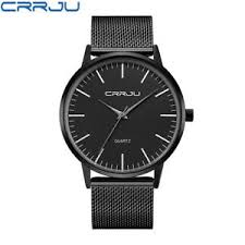 <b>Brand New CRRJU</b> Fashion Analog Quartz Men's Wrist Watch ...