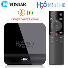 VONTAR H96 Mini H8 <b>Android 9.0 TV Box</b> 2GB 16GB Rockchip ...