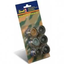 Revell 32340 Military Colour <b>Enamel Paint</b> Set - Revell - Global Ape
