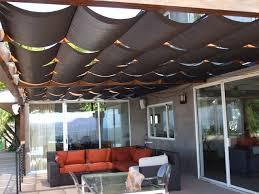 fabric patio awnings