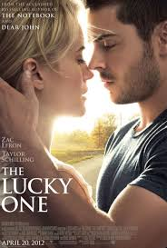 film review the lucky one charlie derry screenplay by will fetters the lucky one is an adaptation of the 2008 novel of the same written by nicholas sparks author of the notebook