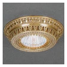 Точечный <b>светильник Reccagni Angelo SPOT</b> 1097 bronzo ...