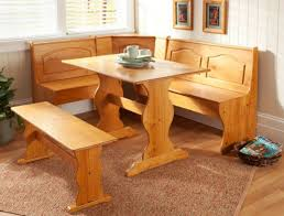 kitchen breakfast nook set corner booth wood dining room table bench nook dining room set breakfast set furniture