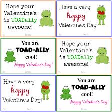 frog valentine cards diy printable valentine cards click here < to get the frog valentine cards to use yourself