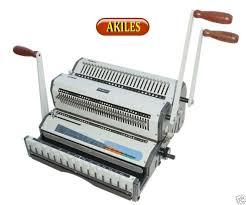 Akiles <b>Wiremac</b>-duo <b>Wire Binding</b> Machine for sale online | eBay