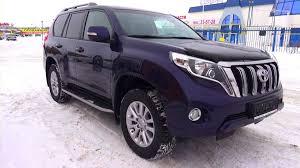 Toyota Land Cruiser Prado 2015 Toyota Land Cruiser Prado Start Up Engine And In Depth