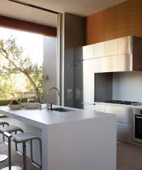 modern white kitchen design small