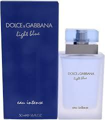 <b>D&G D&G Light</b> Blue Eau Intense(W) Edp 50 Ml X: Amazon.co.uk ...