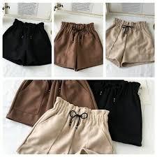 <b>New Women</b> Girl <b>Shorts Autumn</b> Winter High Waist <b>Shorts</b> Loose ...