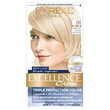L'Oreal Paris Excellence Creme Haircolor, Extra Light ... - Amazon.com