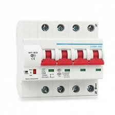 <b>Умный WIFI</b> автоматический выключатель Ps-Link MCB-4P ...