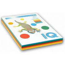 <b>Бумага</b> для печати <b>IQ</b> Color intensive 5 цветов А4 80 г/м² 250 листов
