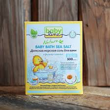 Купить <b>Детская морская соль для</b> ванн Nature Baby line 500гр с ...
