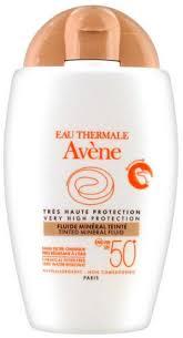 Avene Tinted Mineral Fluid SPF50+ <b>Солнцезащитный</b> ...
