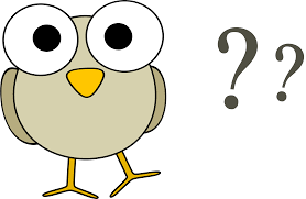 animal questions clipart clipartfest grey bird question marks