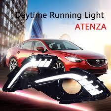 <b>ECAHAYAKU</b> 1 Set LED Car Styling Front Fog Lamps <b>for</b> Mazda <b>6</b> ...