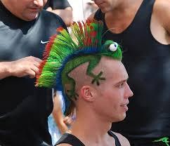 Bilderesultat for funny hairstyles