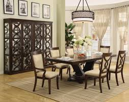 Formal Dining Room Sets With China Cabinet Modern Rectangular Glass Table Dining Room With Four Dark Gray