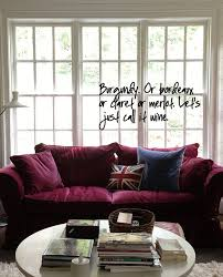 1000 ideas about burgundy couch on pinterest pedestal sink storage couch and home furnishing stores burgundy furniture decorating ideas