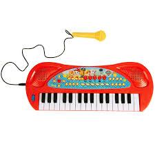 """<b>Синтезатор</b> с микрофоном, звуком и светом """"Щенячий патруль ..."""
