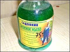 «<b>Зеленое мыло</b>» для помощи растениям