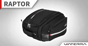 Raptor v2 motorcycle tailbag/office bag - ViaTerra