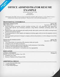 office resume timely and accurate office assistant resume template timely and office administrator resume example singlepageresumecom office administration sample resume