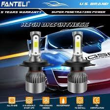 <b>CREE COB H4 HB2</b> 9003 1950W 292500LM LED Headlight Kit Hi ...