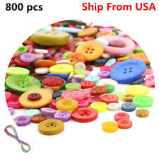 Resin Mixed <b>Lot</b> Multi-Color Sewing Buttons | eBay