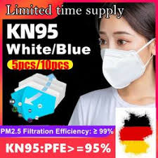 5pcs/10pcs KN95 mask white anti-haze mask anti-fog ... - Vova