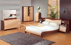 contemporary bed wood furniture