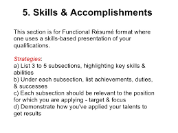 Sample Resume Accomplishments - Template - Template. Major ... skills and achievements resumes - Template - Template