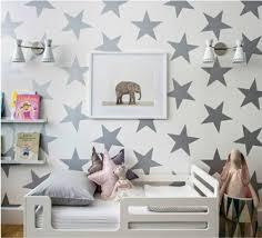 Star Bedroom Decor Habitacion Bebe Nordica Stars Nursery Estrellas Baby Rooms
