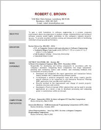 resume template examples of good resumes that get jobs financial 89 amusing how to make a great resume template