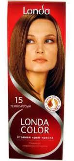 "<b>Крем</b>-<b>краска для волос Londacolor</b> ""Colour Cream №15"", тёмно ..."