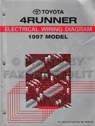 toyota runner wiring diagram image 1997 toyota 4runner wiring diagram manual original on 1997 toyota 4runner wiring diagram