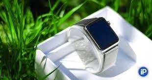 Apple Watch. Впечатления от миланского <b>сетчатого браслета</b>