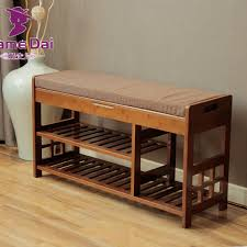 bamboo shoe rack storage organizer hallway bench bamboo furniture cabinets for shoe home entryway shelf stand storage ottoman chinese bamboo furniture