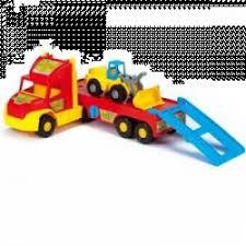 """Отзывы о <b>Игрушка Wader Super Truck</b> """"Перевозчик с трактором"""""""