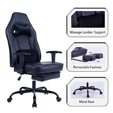 Home & Kitchen Blue <b>Whale</b> Massage Gaming <b>Chair</b> with Footrest ...