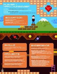 markresume game programmer resume