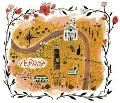 Image result for map of verona