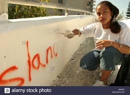 miami beach florida teen job corps students clean up along tatum miami beach florida teen job corps students clean up along tatum waterway near painting over graffiti
